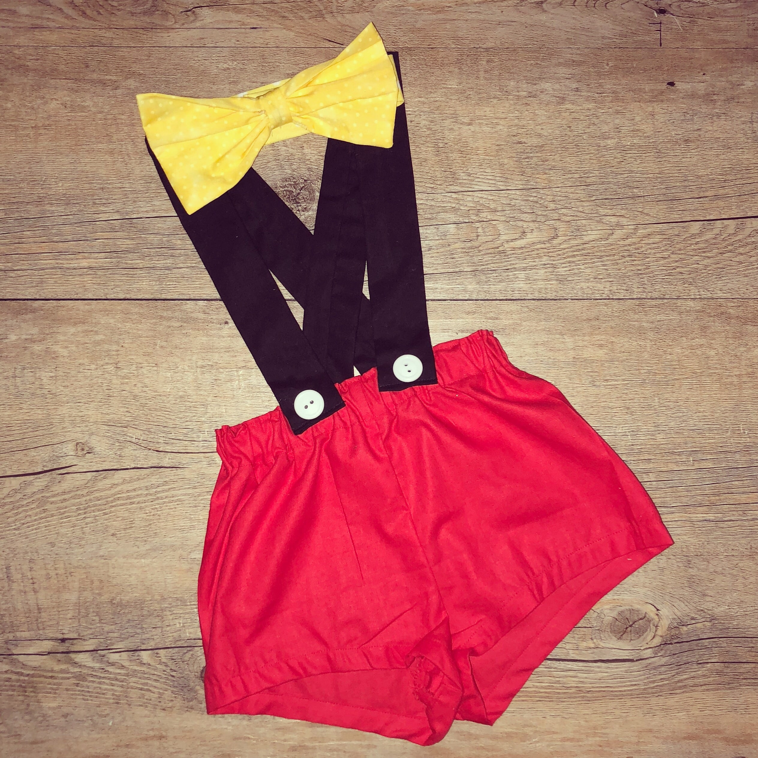 Mickey Mouse Handmade Outfit