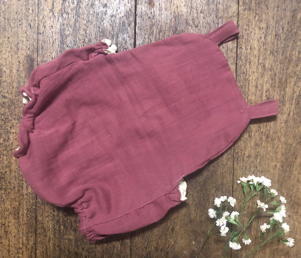 Dusty Plum Romper