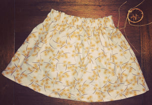 Seasonal Skirt - Handmade Wattle