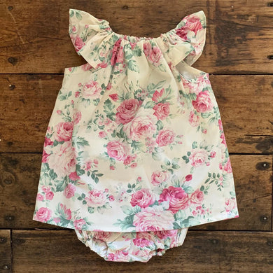 Flutter Sleeve dress and bloomer set - Harper Rose