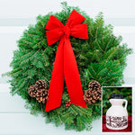 Christmas Wreath with Maple Syrup