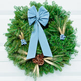 Blue Royal Wreath