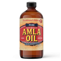 Amla Oil - Virgin Gooseberry Oil, Cold-Pressed - Creekwood Naturals