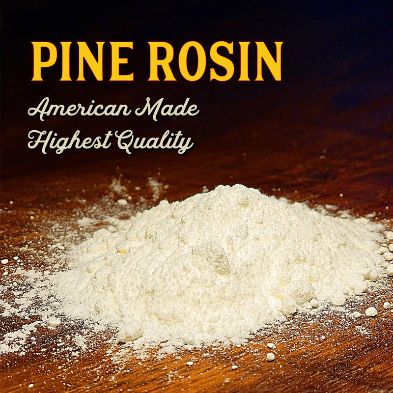 Powdered Pine Gum Rosin - Creekwood Naturals