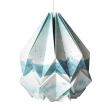 Load image into Gallery viewer, Suspension Origami en Papier - Motif Eté - taille M