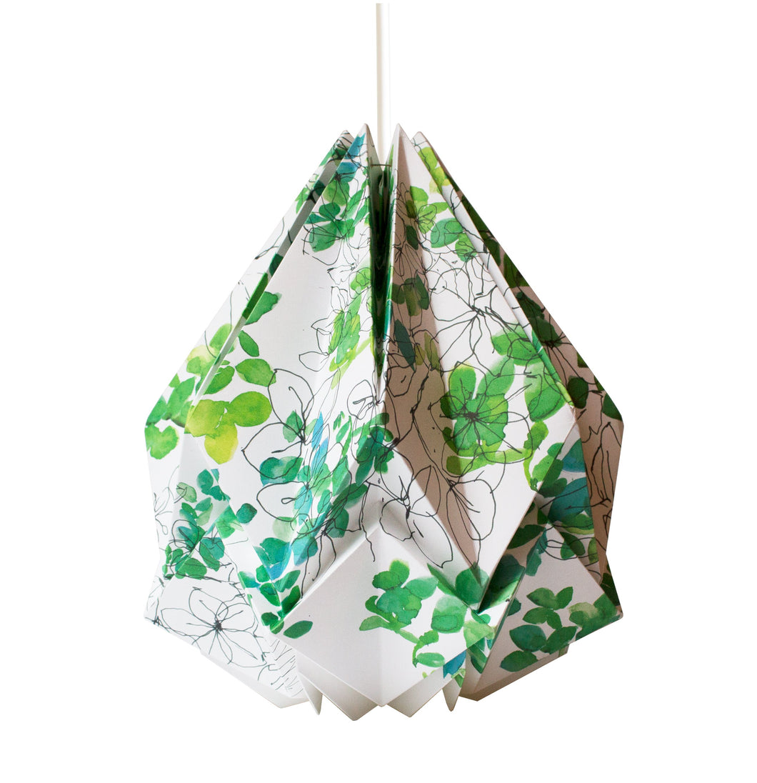 Suspension Origami en Papier - Motif Printemps - taille M