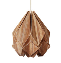 Load image into Gallery viewer, Suspension Origami en EcoWood et Papier - taille M