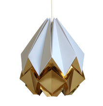 Load image into Gallery viewer, Suspension Origami Bicolore en Papier - Taille M