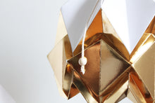 Load image into Gallery viewer, White and Gold Pendant Light - size S