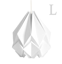 Load image into Gallery viewer, Suspension Origami Couleur Uni en Papier - Taille L