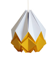 Load image into Gallery viewer, Suspension Origami Bicolore en Papier - Taille XL