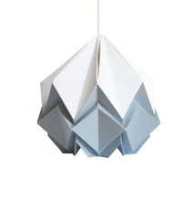 Load image into Gallery viewer, Suspension Origami Bicolore en Papier - Taille S
