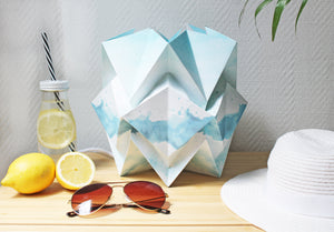 Summer Pattern Table Lamp