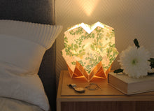 Load image into Gallery viewer, Spring pattern and EcoWood Table Lamp
