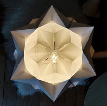 Load image into Gallery viewer, Lampe de sol Origami en Papier
