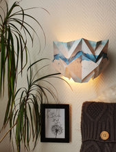Load image into Gallery viewer, Applique murale Origami en Papier - Motif Eté