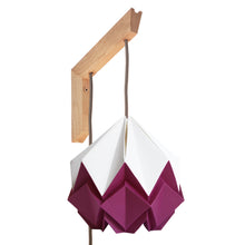 Load image into Gallery viewer, Applique murale en bois et suspension Origami Bicolore Design en Papier