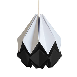 Suspension Origami Bicolore en Papier - Taille XL