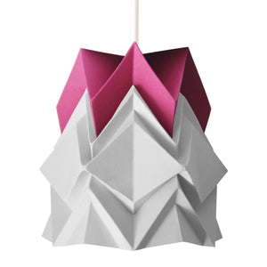 Petite suspension Origami  Design Bicolore en Papier
