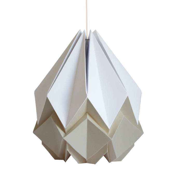 Suspension Origami Bicolore en Papier - Taille M