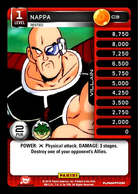 C3 Nappa, Rested
