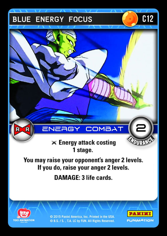 C12 Blue Energy Focus