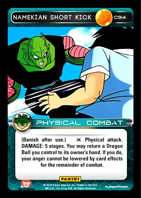 C34 Namekian Short Kick