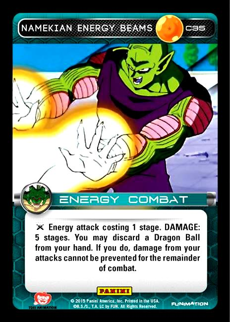 C35 Namekian Energy Beams