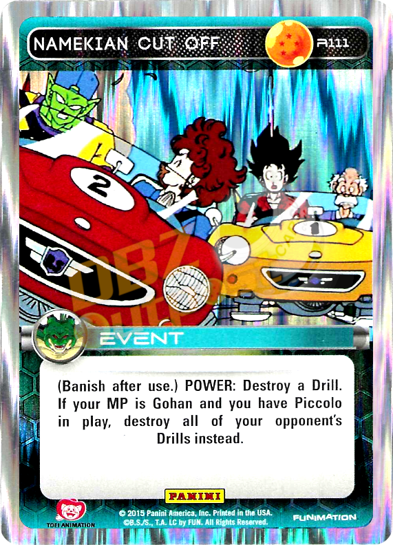 R111 Namekian Cut Off Foil