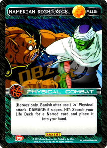 R112 Namekian Right Kick Foil
