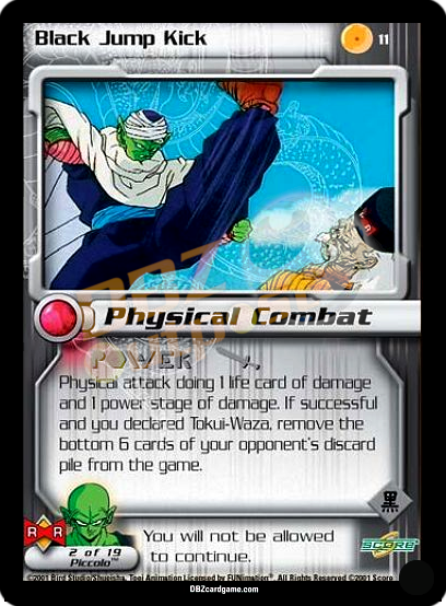11 - Black Jump Kick Unlimited Foil