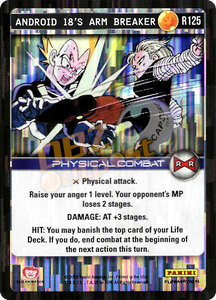 R125 Android 18's Arm Breaker Foil