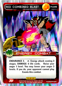 R125 Red Combined Blast Foil