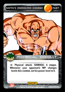 R137 Nappa's Energized Charge