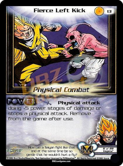 13 - Fierce Left Kick Unlimited