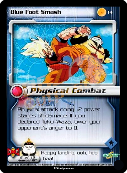 14 - Blue Foot Smash Unlimited Foil