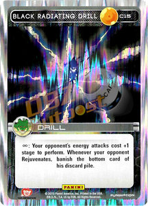 C15 Black Radiating Drill Foil