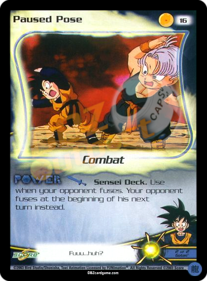 16 - Paused Pose Limited Foil
