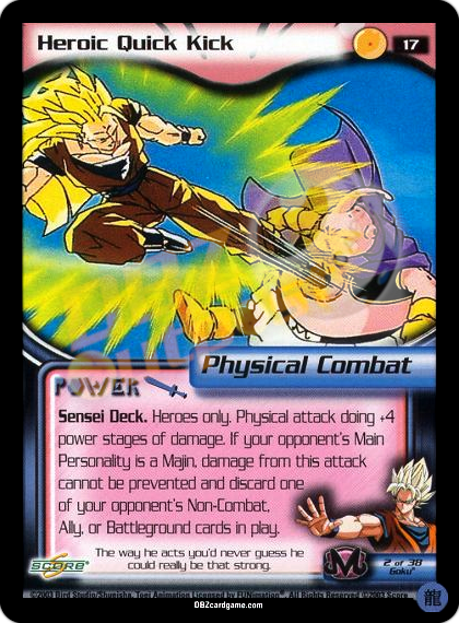 17 - Heroic Quick Kick Limited Foil