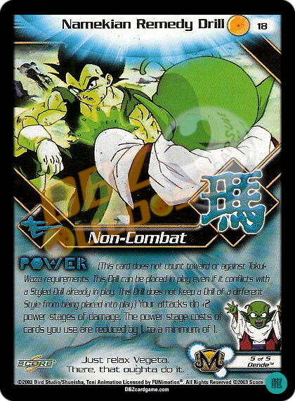 18 - Namekian Remedy Drill Limited Foil