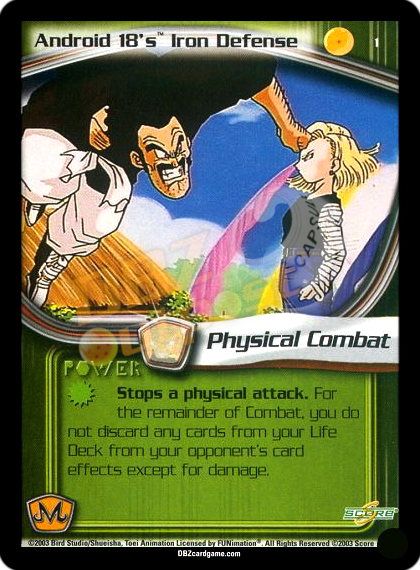 1 - Android 18's Iron Defense Unlimited Foil