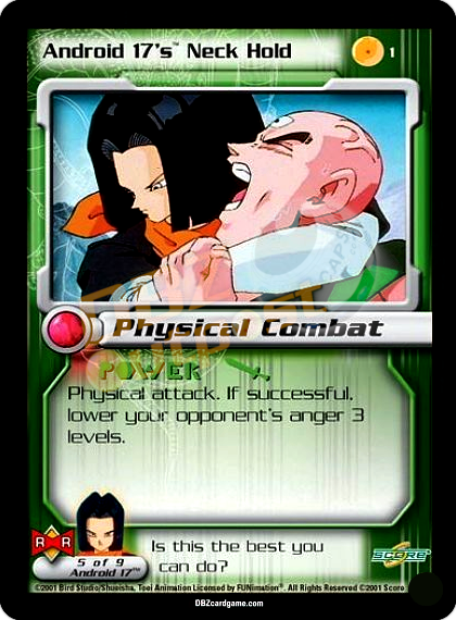 1 - Android 17's Neck Hold Unlimited Foil