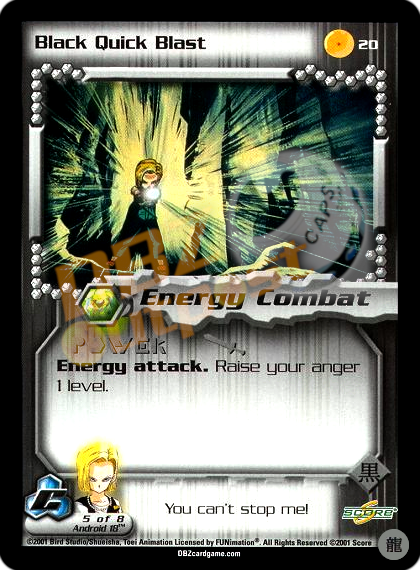 20 - Black Quick Blast Limited Foil