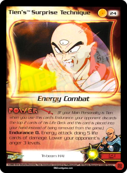 24 - Tien's Surprise Technique Limited Foil