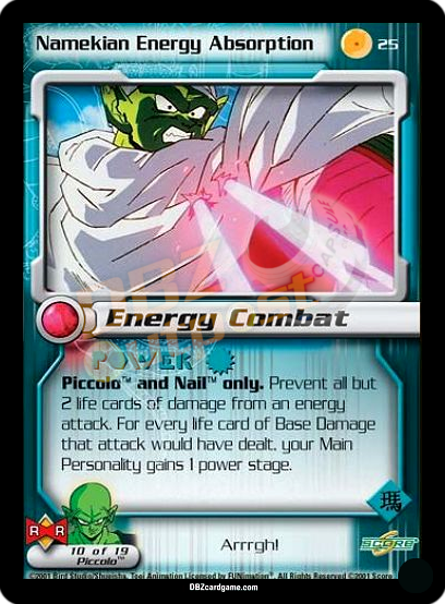 25 - Namekian Energy Absorption Unlimited Foil