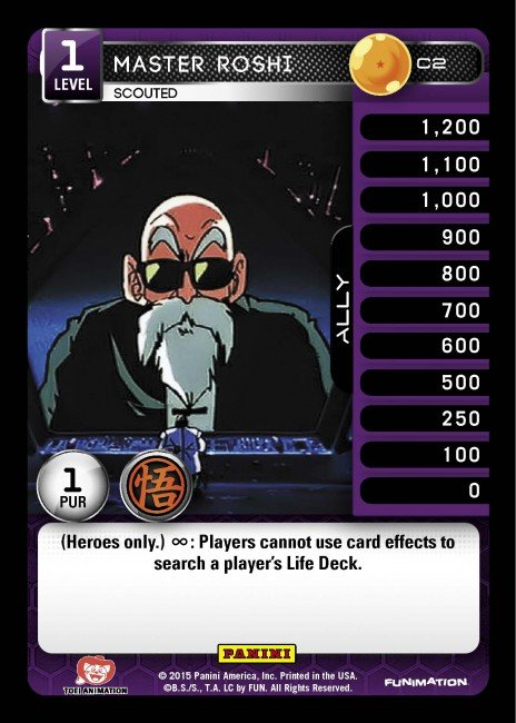 C2 Master Roshi, Scouted