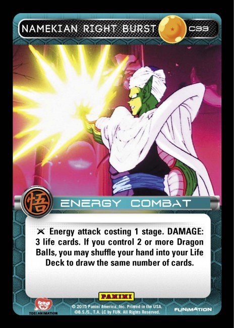 C33 Namekian Right Burst