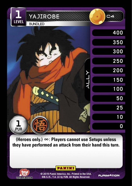 C4 Yajirobe, Bundled