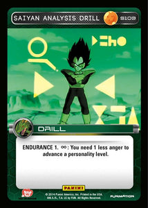 S103 Saiyan Analysis Drill