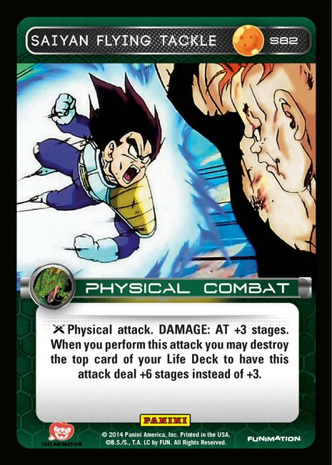 S82 Saiyan Flying Tackle
